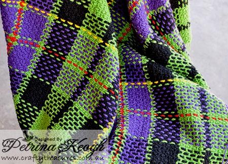 Free Crochet Patterns Tartan Rugs : EASY CROCHET TARTAN RUGS ? CROCHET PATTERNS