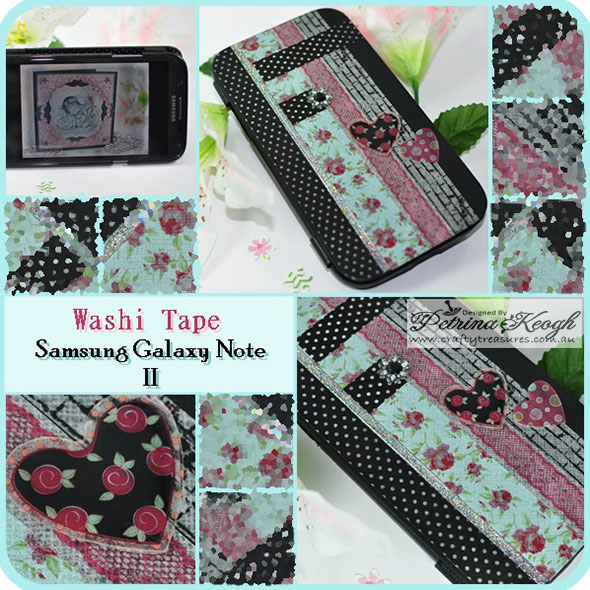 Craftytreasures page 11 for Washi tape phone case