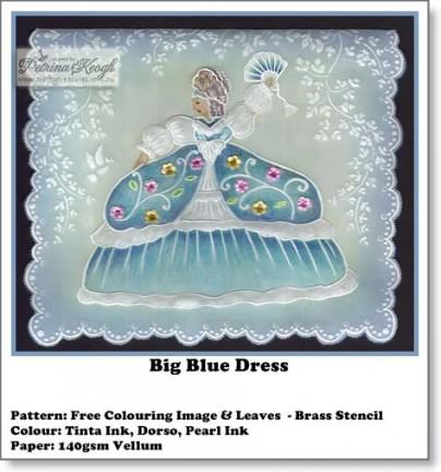 Big Blue Dress