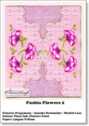Fushia Flowers 2