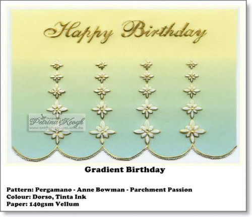 Gradient Birthday