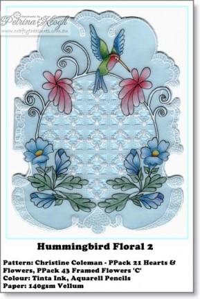 Hummingbird Floral 2