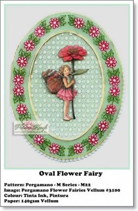 Oval Flower Fairy
