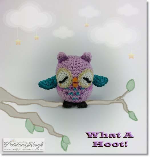 Crochet Owl - Feebie