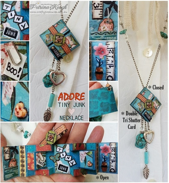 Adore_Tiny Junk Necklace